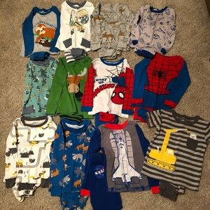Boys PJ set bundle